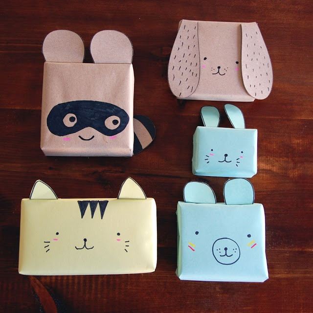 Petit Pot: Shop update: Animal Gift Wrap