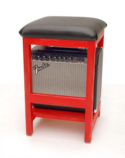 music amp stool | Guitar Merchant to build Rockin' Stools, providing the perfect music ...