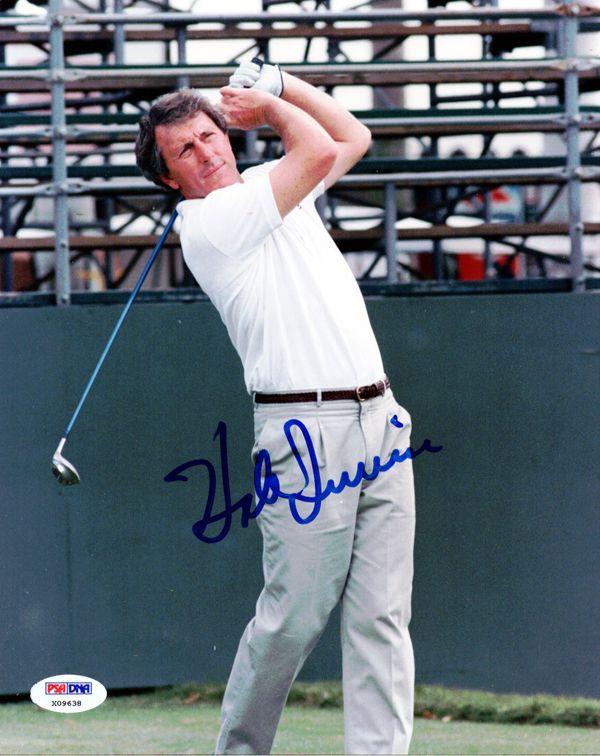 Hale Irwin Autographed 8x10 Photo PSA/DNA