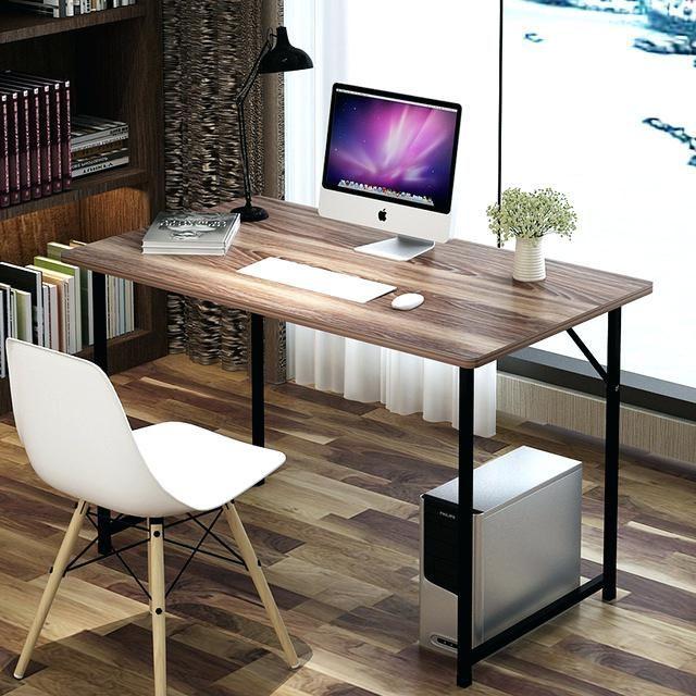 Minimal Computer Desk Simple Desktop Computer Desk Combination Of