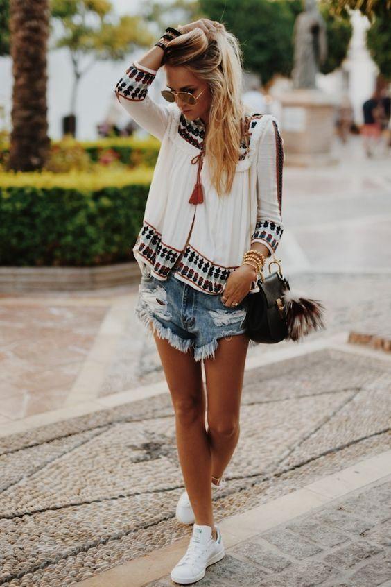 Qui veut un short en jean pour l'arrivée de l'été ?