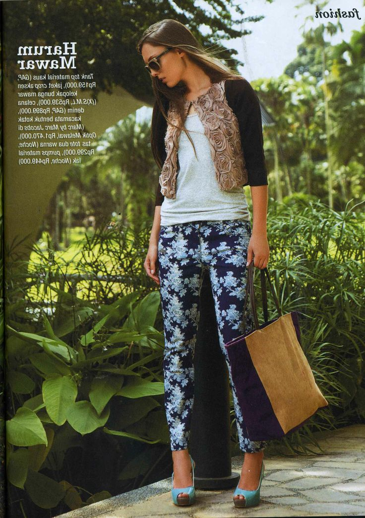 (X)S.M.L Flower Jacket is appeared on Joy Indonesia - May 2013