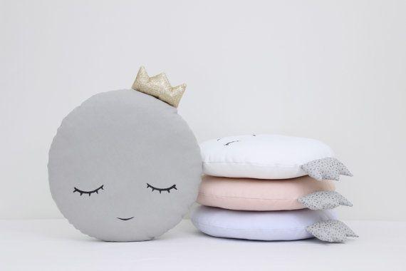 Completo Princesa Luna almohada  gris blanco por ProstoConcept