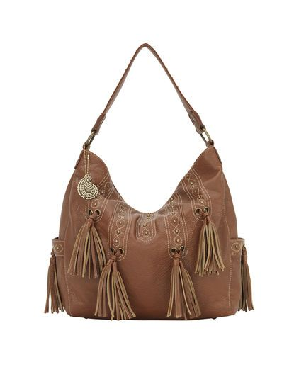 Womens San Raphael 3 Compartment Slouch Hobo