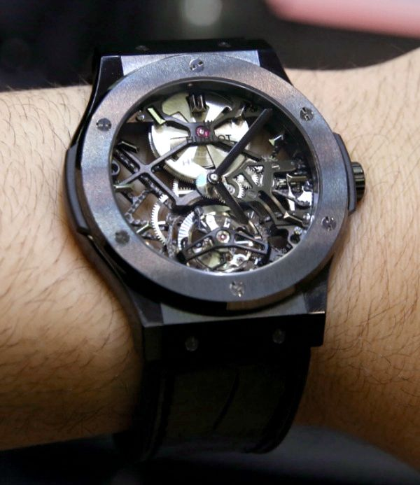 Hublot Classic Fusion Skeleton Tourbillon 45mm Watches Hands-On