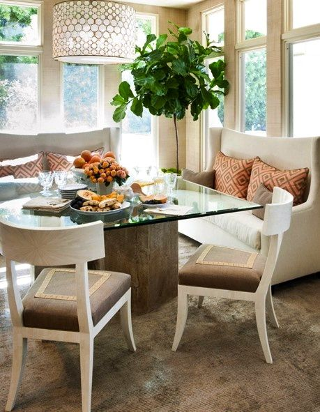 southern living banquette banquettes are back - Dining Banquette