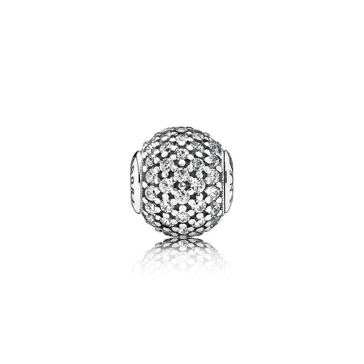 GENEROSITY ESSENCE COLLECTION charm in silver with cubic zirconi $65.00  $45.98