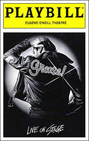 Grease Playbill - Opening Night