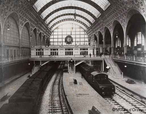 La Gare d'Orsay now converted to a museum for impressionist paintings: Musée d'Orsay