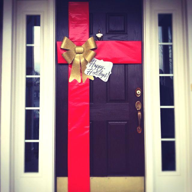 Diy Holiday Door Cindy 39 S Board Pinterest