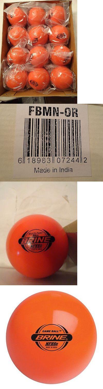 Field Hockey 4388: Brine One Dozen Field Hockey Game Ball Multi-Turf Fbmn-Yl Stamped Nfhs Orange 12 -> BUY IT NOW ONLY: $60 on eBay!