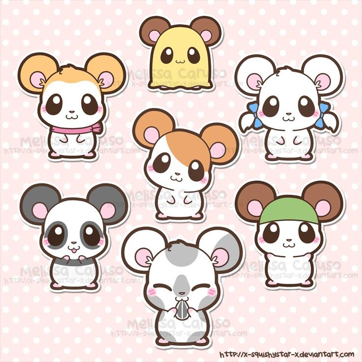 Hamtaro! My childhood :D