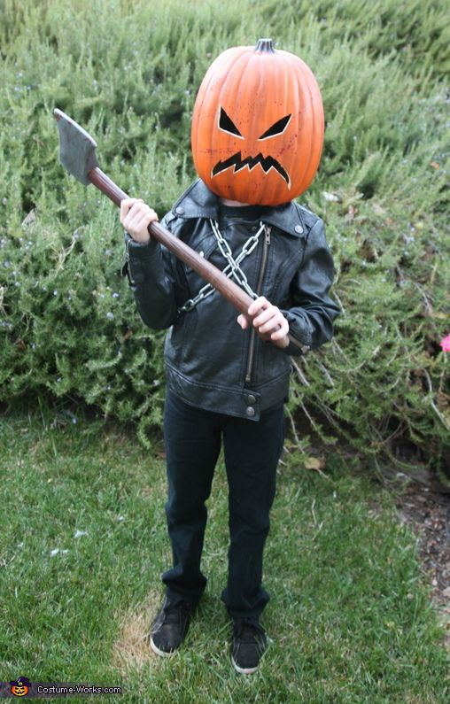 killer pumpkin diy halloween costume - Unique Boy Halloween Costume Ideas