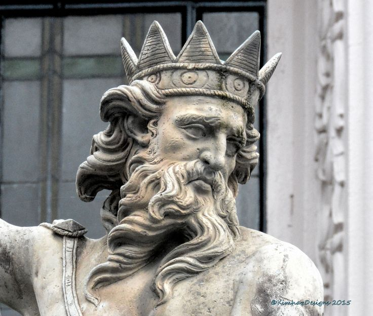 Durham - Statue of Neptune Market Place Detail | Flickr - Photo Sharing!