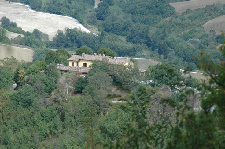 Villa Dama fro the top of the hill
