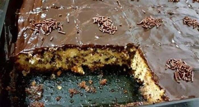 Τρουφάτο – μυρμηγκάτο με κρέμα σοκολάτας Είναι πραγματικά τέλειο!  #Γλυκά