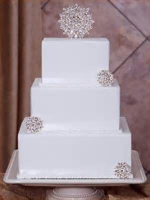 Winter Wedding Cakes | CherryMarry  Keywords: #winterweddings #jevelweddingplanning Follow Us: www.jevelweddingplanning.com  www.facebook.com/jevelweddingplanning/
