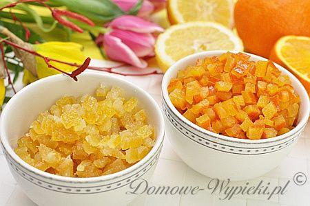 Kandyzowana skórka pomarańczowa i cytrynowa