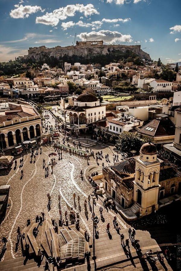 village grecque - architecture grecque ancienne