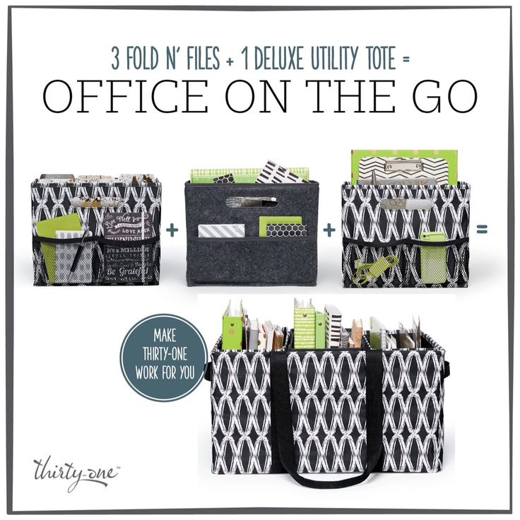 Home & Office organizing! So easy with Thirty~One! Fall Catalog 2015