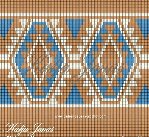 3 Patrones de Bolsos Tapestry Crochet ~ Patrones para Crochet