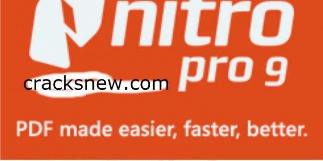 nitro pdf software serial key