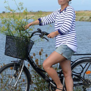 Une marinière en tricot - Marie Claire Idées explications + patron