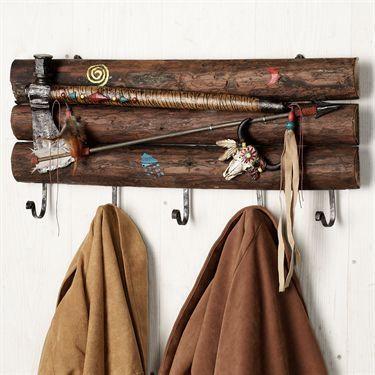 Tomahawk Wall Hook Rack Plaque