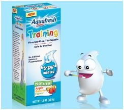 Aquafresh Training Toothpaste Coupon