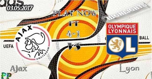 Ajax 4 - 1 Lyon HIGHLIGHTS 03.05.2017