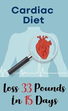 Cardiac Diet – Lose 10lbs in 3 days