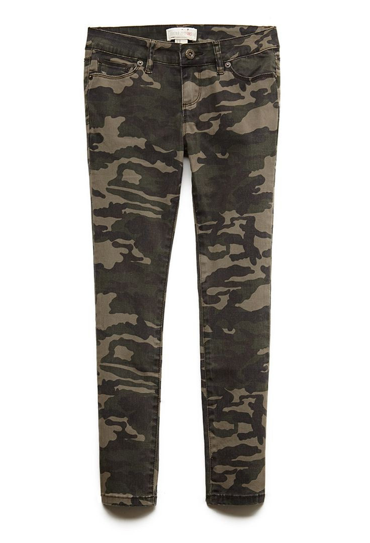 Wonderful Forever 21 Camo Print Joggers In Green | Lyst