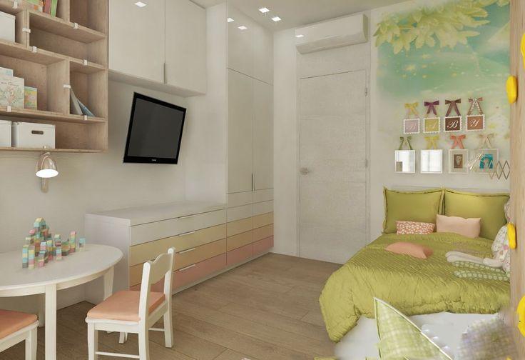 Современные идеи для детской комнаты