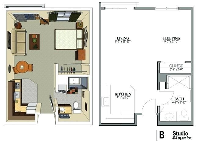 Related Image Studio Apartment Floor Plans Studio Floor Plans Studio Apartment Plan