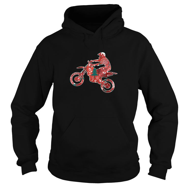 Cute Motocross Christmas Design