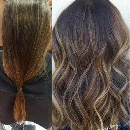 Photo of Shenanigans Hair Lounge - Riverside, CA, United States. New look, new style, new color with Morgan
