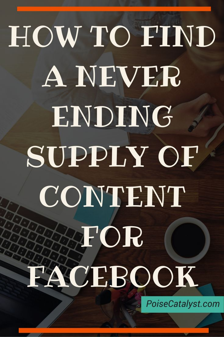 [VIDEO] The guys from Post Planner are sharing some great tips on how to find a never ending supply of content for Facebook. Click through!