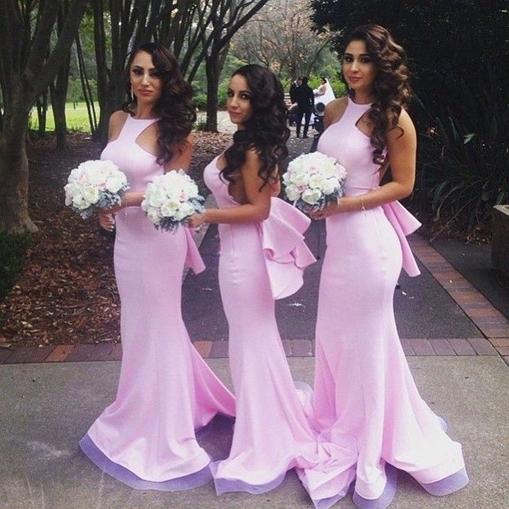 Find More Bridesmaid Dresses Information about Attractive Plum Pink Bridesmaid Dress with Halter Neckline Sexy Off the Shoulder Satin Organza Ruffles Peplum Bridesmaid Dress,High Quality bridesmaid dresses with rhinestones,China dress creative Suppliers, Cheap bridesmaid dress color from Suzhou Yast Wedding Dress Store on Aliexpress.com