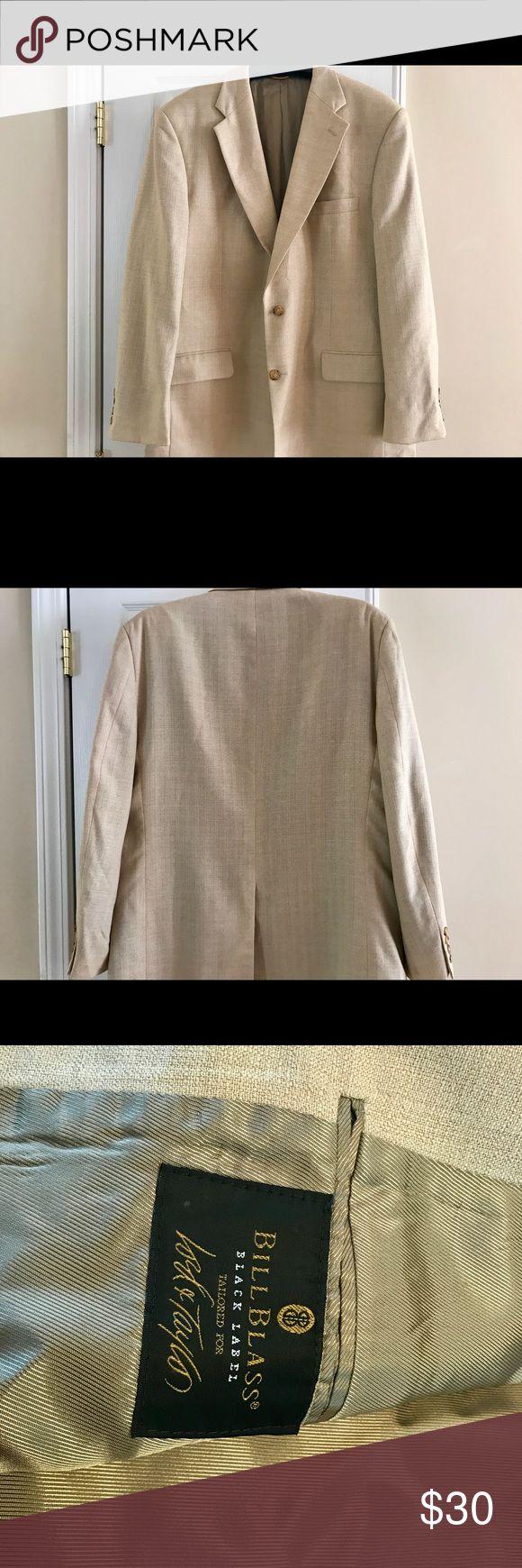 Men's Sport Coat 44 long. Bill Blass Black Label Men's Sport Coat 44 long. Bill Blass Black Label tailored for Lord & Taylor. Very good condition Bill Blass Black Label Suits & Blazers Sport Coats & Blazers