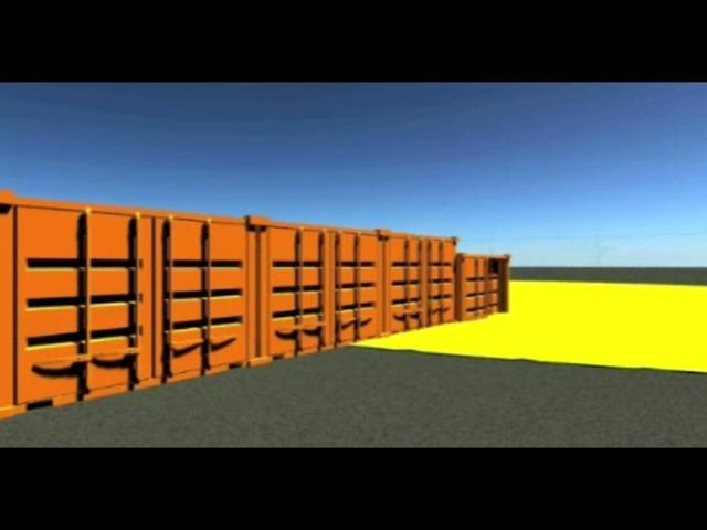 School assignment to create a love story about shipping containers. Graphic analyzer scripting tool in 3d Studio max to create the effect in the second half of the movie.