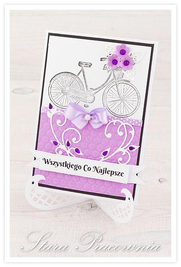 Kartki ręcznie robione, cardmakigng, scrapbooking, kartka ręcznie robiona www.starapracownia.blogspot.com www.facebook.com/starapracownia