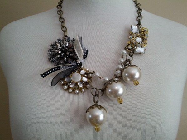 Camilla Necklace- Vintage Chic by Sweet Briar Hollow at Gardner