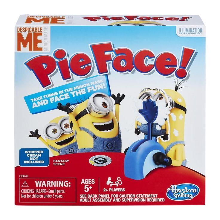 Hasbro - Despicable Me Minion Made Edition Pie Face Game - Multi