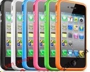 Etui iphone 4 4G silikonowe BUMPER wyprzedaż