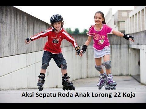 Aksi Sepatu Roda Anak Lorong 22 Koja..