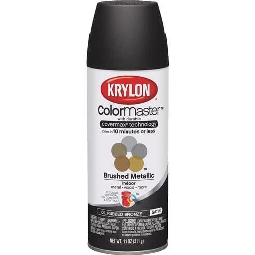 Krylon/Consumer Div Oil R Bronze Spray Paint 51254 Unit: Each