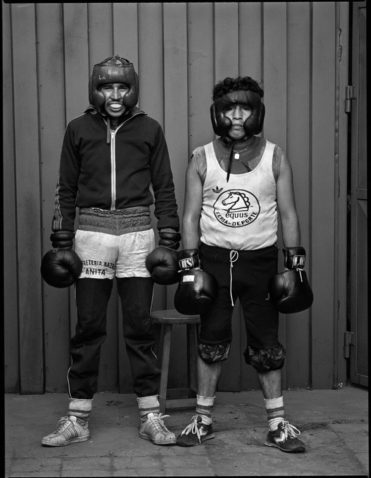 Boxeadores, 1987 | PAZ ERRÁZURIZ
