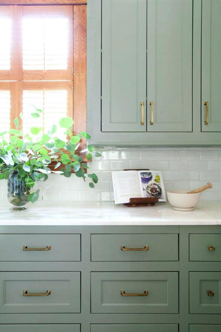 946 Best Images About Paint Colors On Pinterest Exterior And Colorssherwin Willia Painted Kitchen Cabinets Colors Green Kitchen Cabinets Kitchen Cabinet Colors