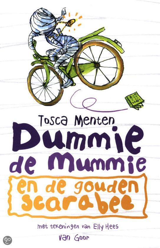 Dummie de Mummie komt natuurlijk uit Egypte. Tosca Menten schreef ook een boek voor de kinderboekenweek
