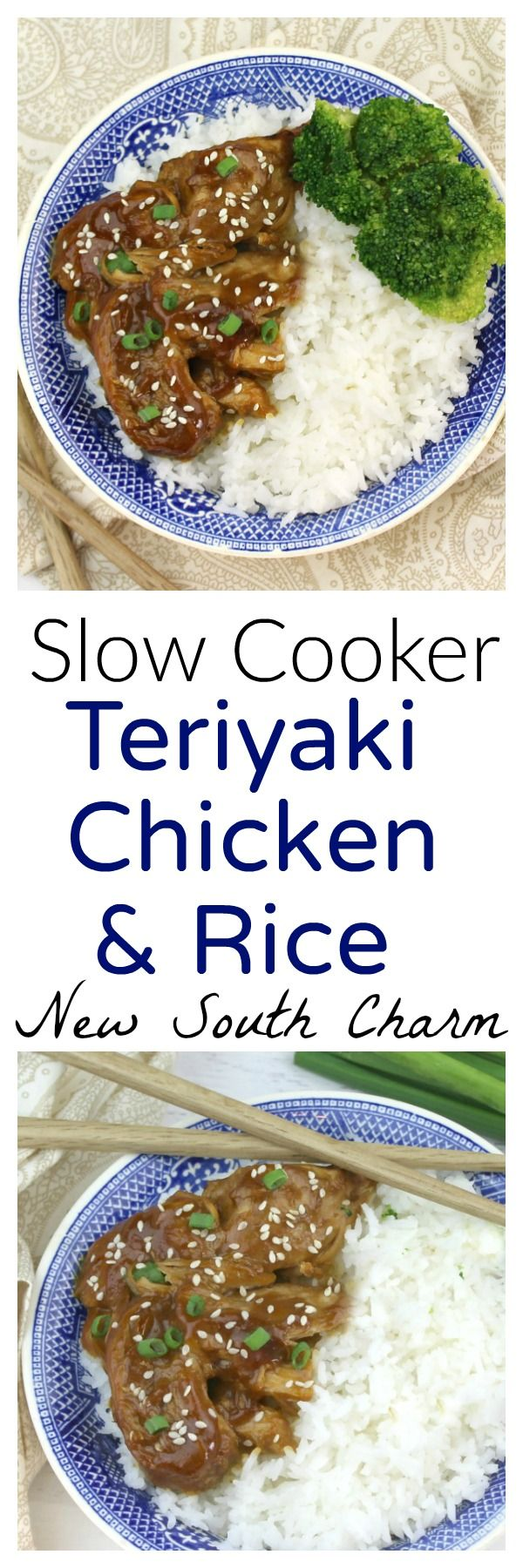 Slow Cooker Chicken Teriyaki and Rice is an easy to prepare dinneR. #ad